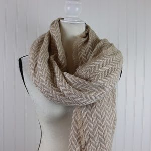 Universal Thread Chevron Winter Scarf